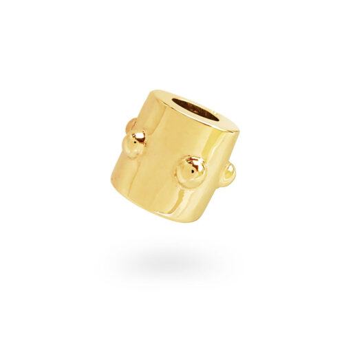 Japa Collection 14K Yellow Gold Bead
