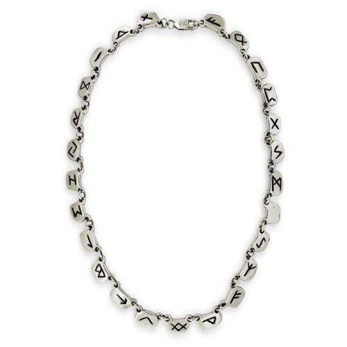 Silver Rune Necklace