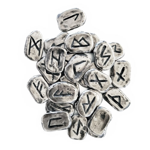 Silver Rune Set