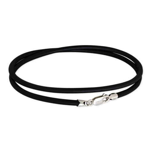 2mm Rubber Cord Necklace