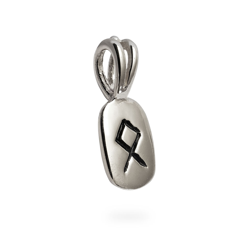 Othila Rune Pendant in Solid Sterling Silver