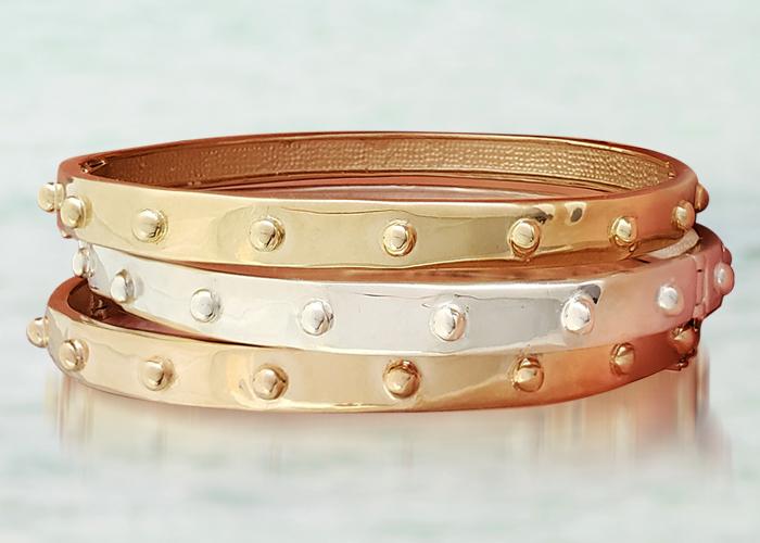 Meditation Japa Bangle Bracelet by Iva Winton Jewelry