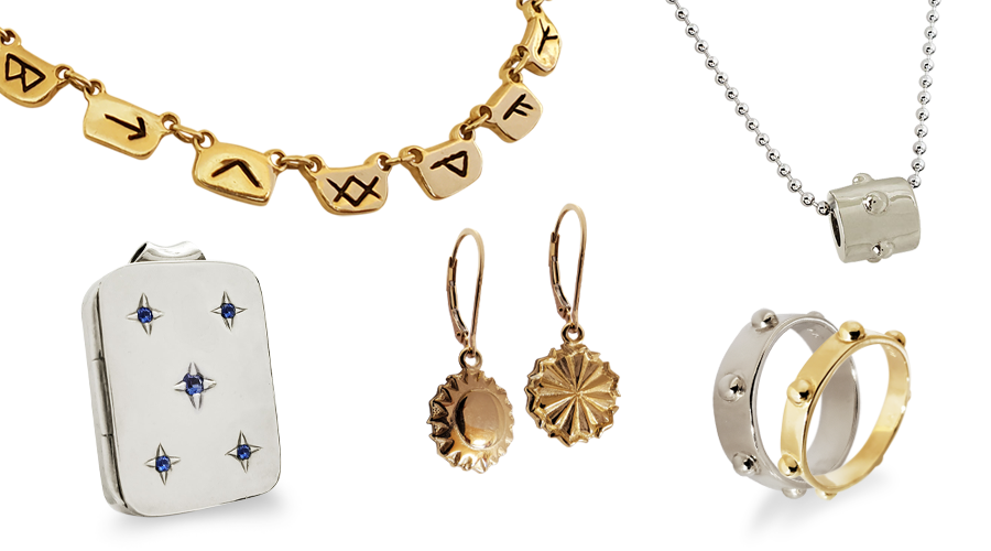 Casted Jewelry by Iva Winton