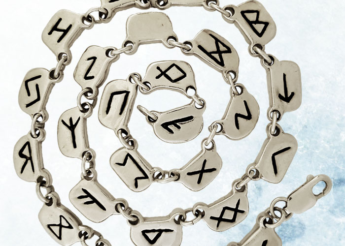 Rune Necklaces by Iva Winton