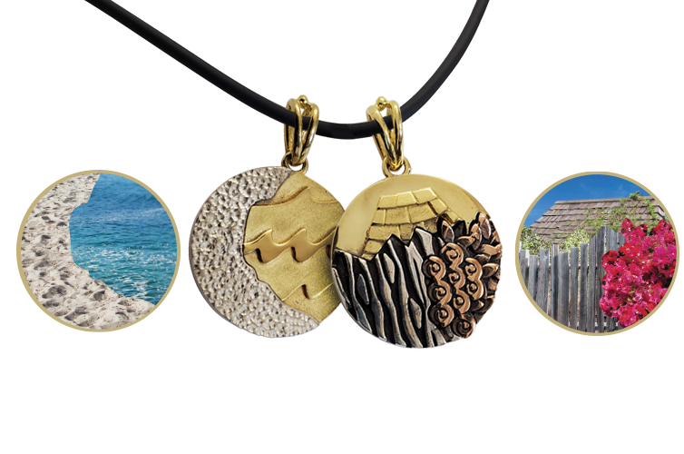 Carmel Collection Carmel-by-the-Sea Pendant by Iva Winton